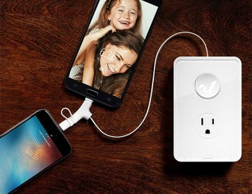The Rabbit Turns Home Outlets Into Charging Hubs