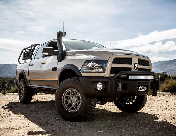AEV's Recruit Conversion Kit Turns Your Ram 1500 into an Off-Road Beast at werd.com