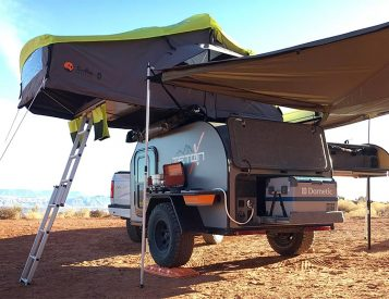 TetonX Camper Trailers Bring Creature Comforts to Off-Road Exploration