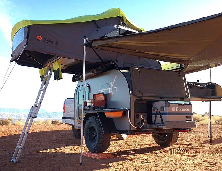 TetonX Camper Trailers Bring Creature Comforts to Off-Road Exploration at werd.com