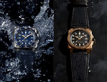 Bell & Ross Introduces the Square-Case BR03-92 Diver in Two New Finishes
