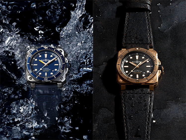 Bell & Ross Introduces the Square-Case BR03-92 Diver in Two New Finishes at werd.com