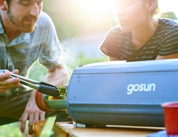 GoSun Fusion is a Hybrid Solar/Electric Oven