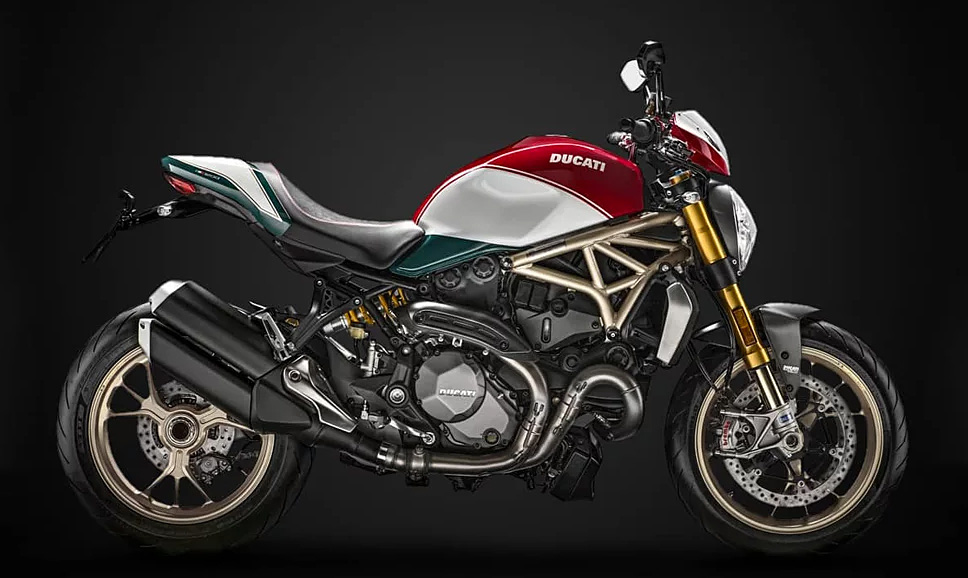 The Ducati Monster 1200 Turns 25 & Gets A Special Edition at werd.com