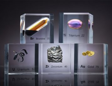 Luciteria Collects Elements from the Periodic Table