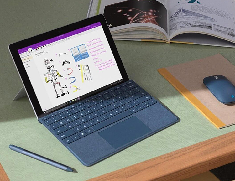 Microsoft Introduces 10-Inch Surface Go Tablet at werd.com