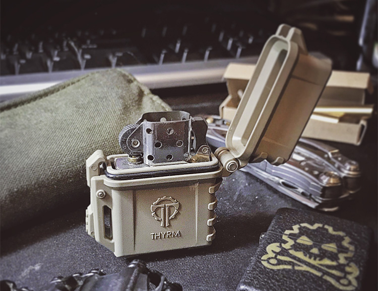 PyroVault is a Suit of Armor for Your Zippo at werd.com