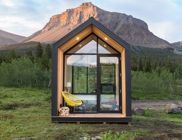 Drop Structures Introduces a Plug & Play Cabin You Can Put Anywhere