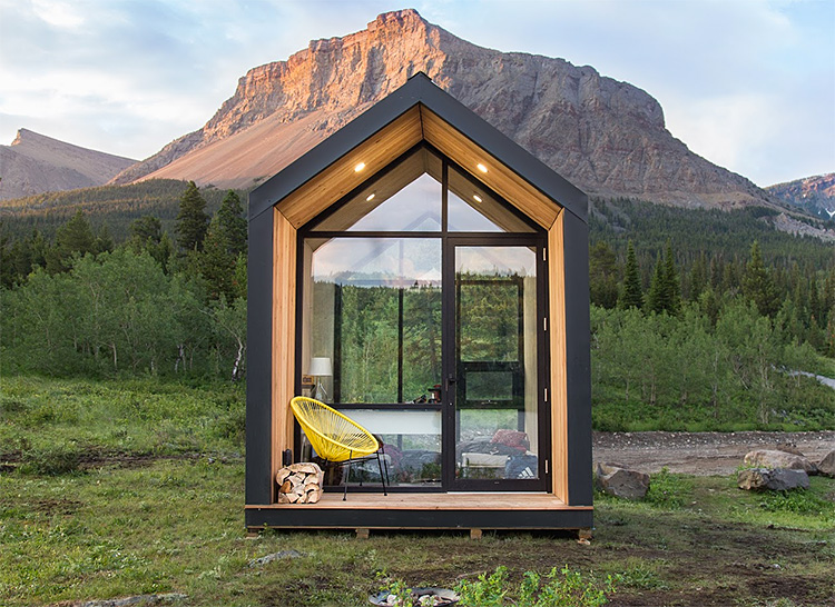 Drop Structures Introduces a Plug & Play Cabin You Can Put Anywhere at werd.com