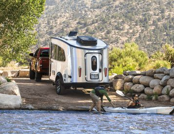 Airstream Launches an Upgraded Version of Their Pint-Size Basecamp Trailer