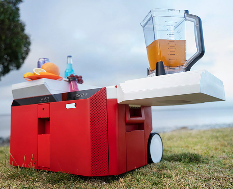 The Infinite Cooler is the Ultimate Off-Grid Party Machine at werd.com