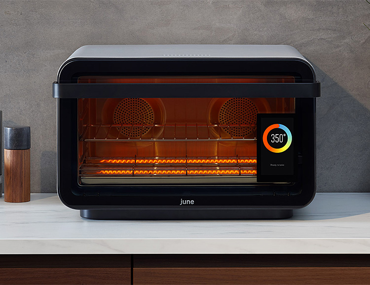 June Introduces An Even Smarter A.I. Powered Oven at werd.com