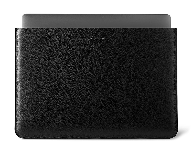 This Slim Leather Sleeve Will Look Great On Your Mac at werd.com