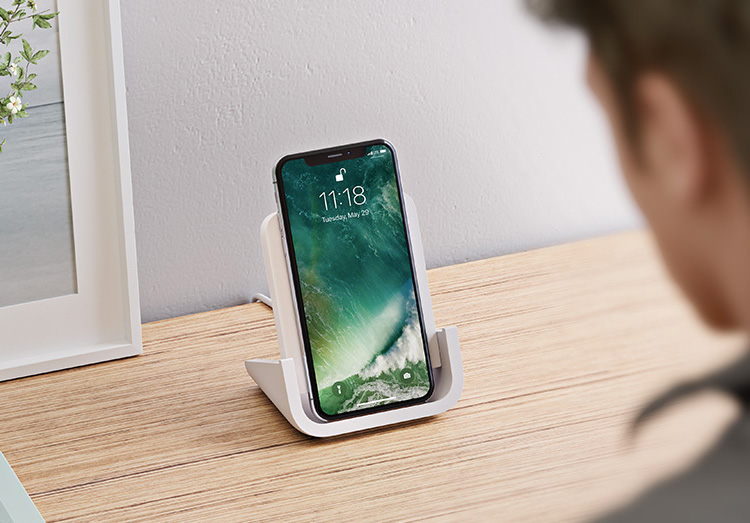 This Wireless iPhone Charger from Logitech Really Stands Out at werd.com