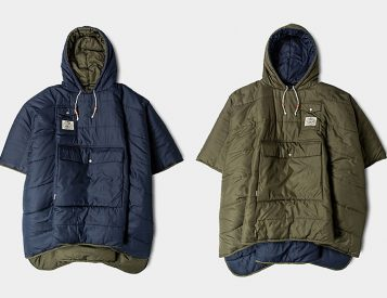 Poler's Reversible Camp Poncho is the Ultimate Chillwear